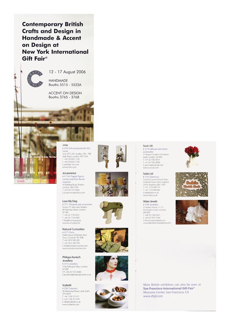 British Craft & Design NY Fair