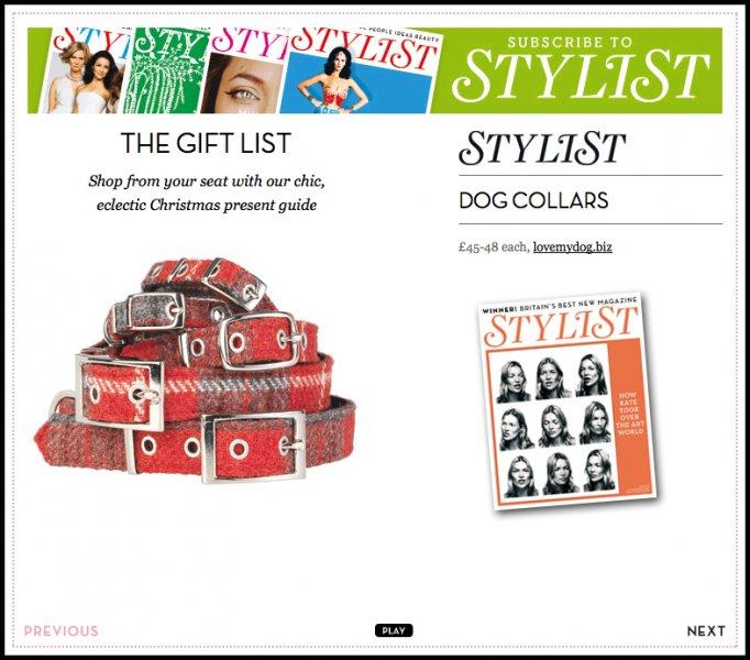 Stylist Magazine online