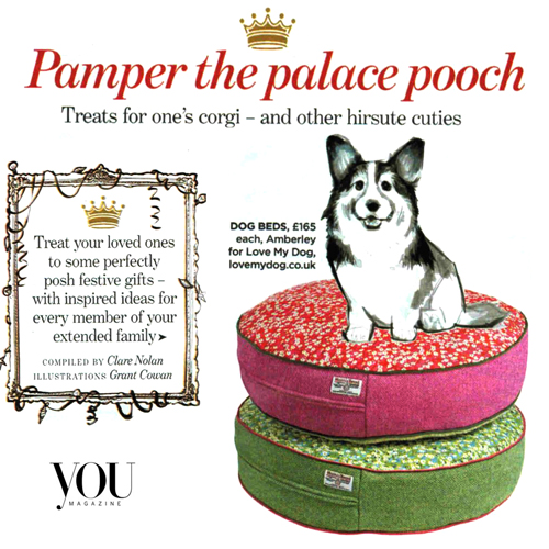 Amberley 'Liberty print' dog beds