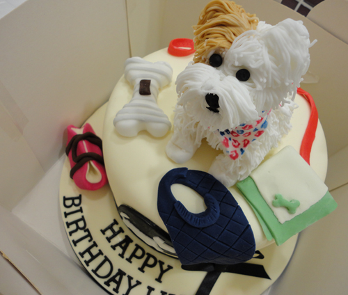 Best dog cake ever