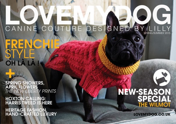 LoveMyDog Lookbook SS15 - Canine Couture designed by Lilly